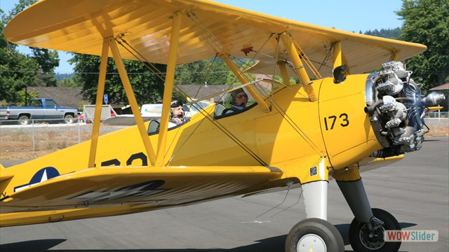 Stearman N54173 - Andreas Hotea and Lee Searles in Cottage Grove-3